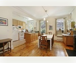 Chelsea Penthouse 3 bed + home office. living room, dining room, fireplace.on tree-lined block.