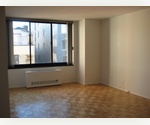 Immaculate 1 Bedroom, 1 Bathroom in the Upper West Side, Hardwood Floors, Separate Kitchen, Ceramic tile Bathroom, 24 Hour Doorman Building. 1 Block from the train